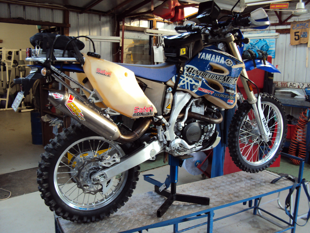 YAMAHA 07-on WR250/450F, 10 litre rear