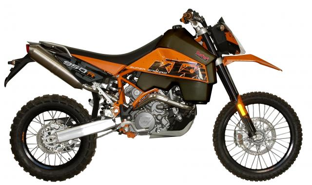 KTM 950SE (WITH side covers)